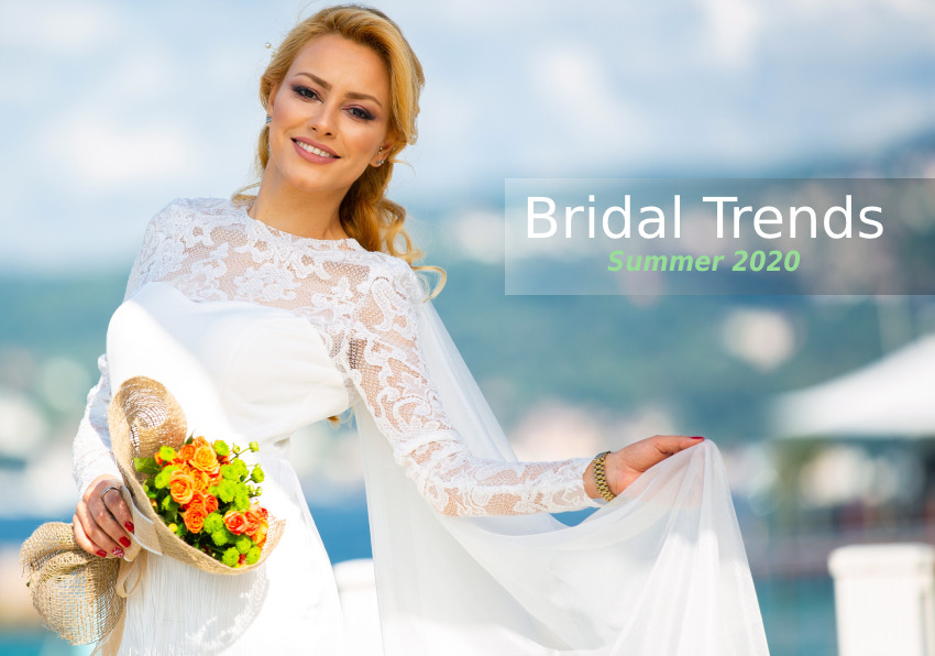 Know The Bridal Trends of Summer 2020