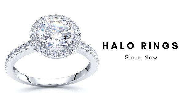 Designer Halo Rings, Best Real diamond Jewelry Designs