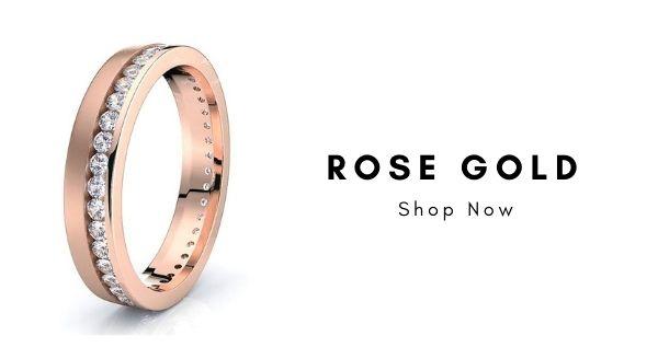Best Rose Gold Real Diamond Rings, Trending Real Diamond Jewelry Designs