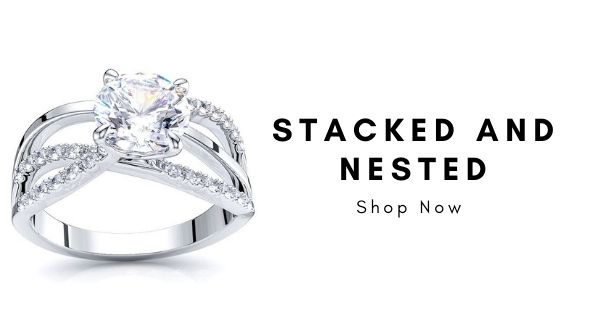 Best Stacked and Nested Rings, Top Trending Real Diamond Jewelry 2020