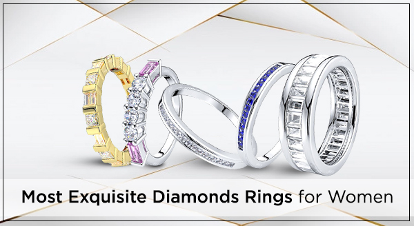 Designs of diamond rings that are going viral among ladies