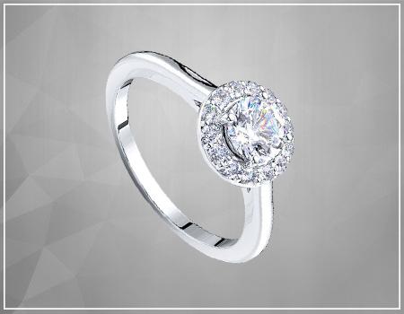 Round-Cut Diamonds Engagement Rings