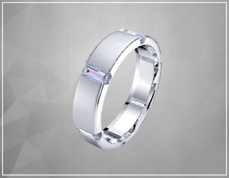 Emerald-Cut Diamonds Engagement Rings