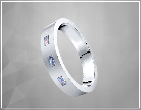 Princess-Cut Diamond Engagement ring