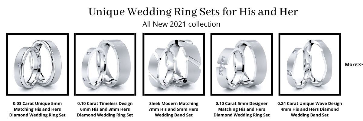 Wedding Ring Sets for His and Her