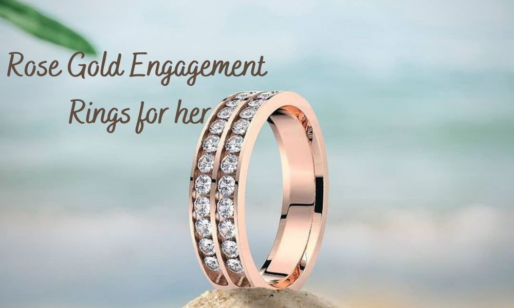 Rose Gold Engagement Rings for her
