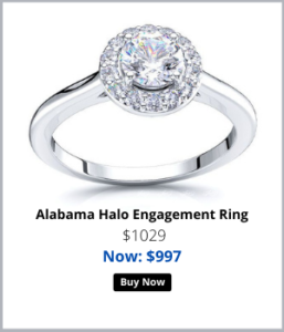 Halo Engagement Rings For her
