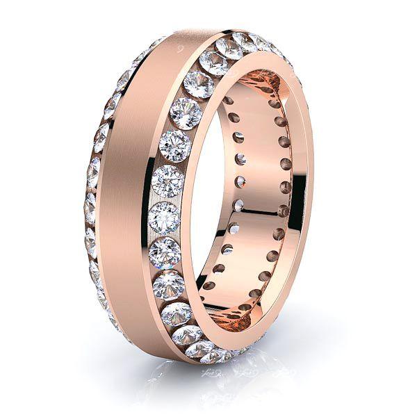 Alice Mens Diamond Wedding Ring