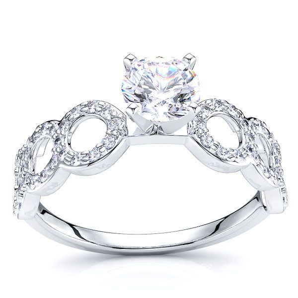 Elif Fancy Diamond Engagement Ring