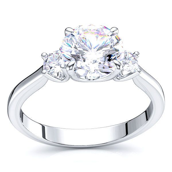 Pittsburgh Three Stone Diamond Engagement Ring