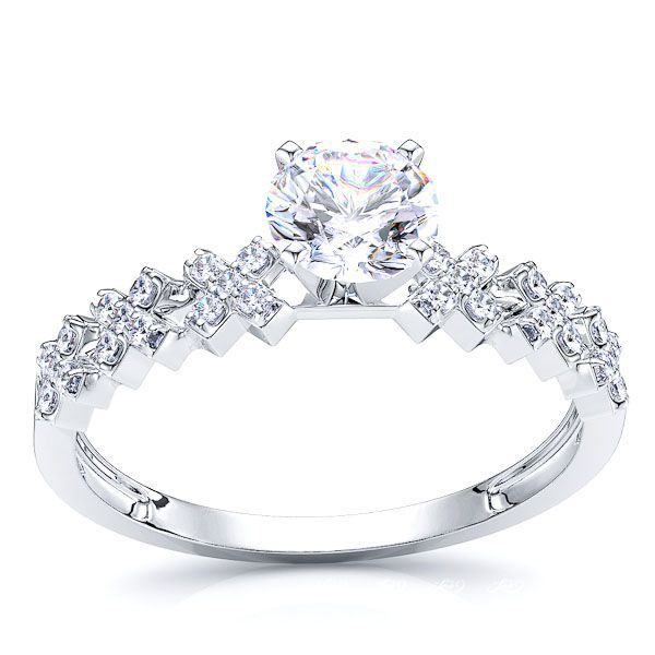 Delaware Fancy Engagement Ring