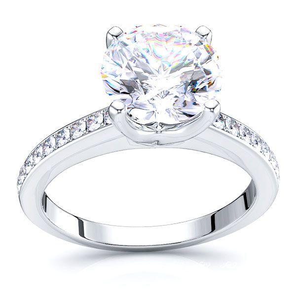 Indiana Pave Set Engagement Ring