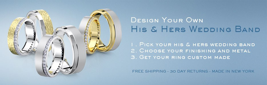 his hers - His And Hers Wedding Ring Sets