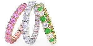 Diamond Eternity Wedding Bands