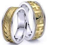 Wedding Ring Sets For Him Her With Lifetime Warranty