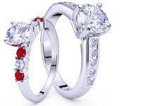 Sidestone Engagement Rings